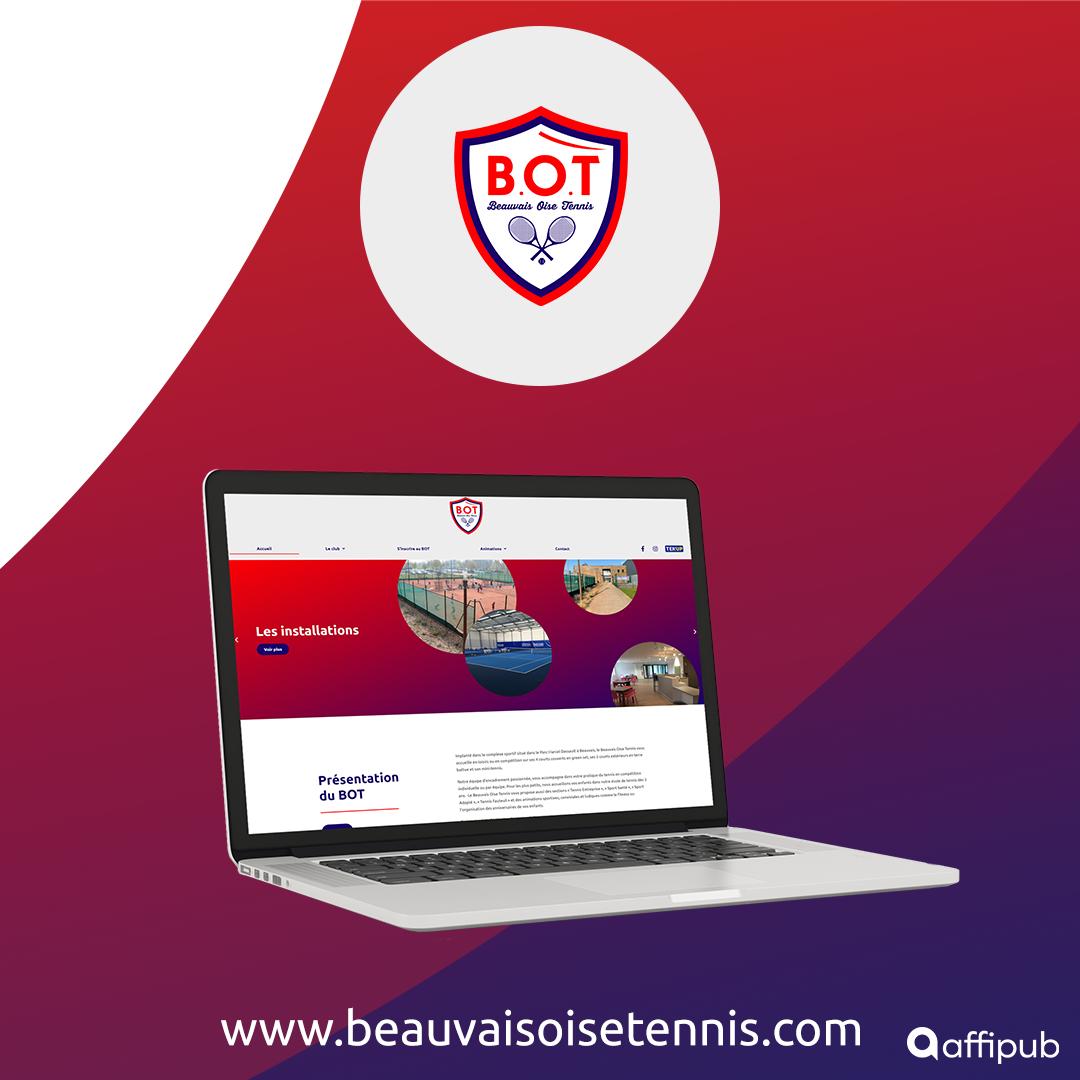 Site internet du Beauvais Oise Tennis